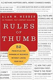 rules of thumb book cover